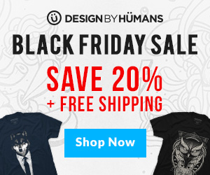 Black Friday & Cyber Monday - Coupon + Free Shipping - 300 x 250