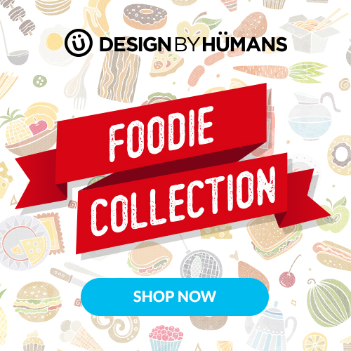 Shop the foodie collection at DesignByHumans.com.
