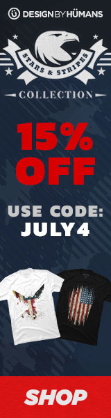 Save 15% off the Stars & Stripes Collection with coupon code: JULY4.