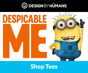 Shop Despicable Me apparel at DesignByHumans.com.