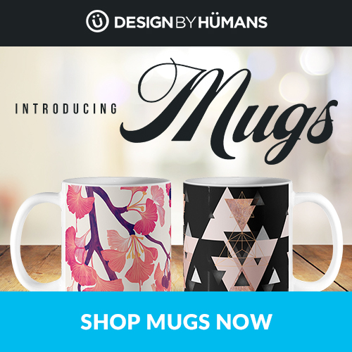 Shop ceramic mugs at DesignByHumans.com!
