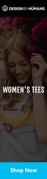Shop women's graphic tees at DesignByHumans.com.