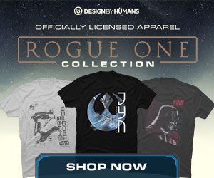 Star Wars Rogue One apparel at DesignByHumans.com.