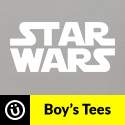 Boy's Star Wars tees are now available at DesignByHumans.com.