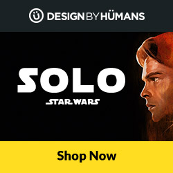 Shop apparel for 'Solo: A Star Wars Story' at DesignByHumans.com.