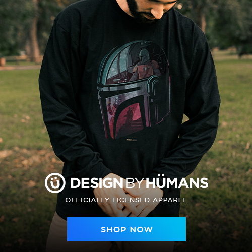 Shop Star Wars Mandalorian apparel at DesignByHumans.com