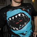 viiieast wearing Shark with pixelated teeth! by gloopz