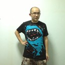 samueler wearing Shark with pixelated teeth! by gloopz