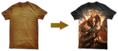 This Is Your Canvas, Create An Epic Diablo III T-Shirt