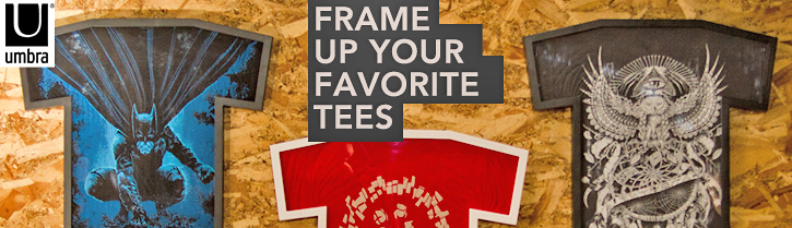 T Shirt Frames for Your Favorite Tees