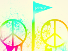 Keep The Peace T-Shirt Design by