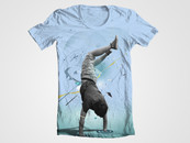 Break Dance Tee by AnderGoig