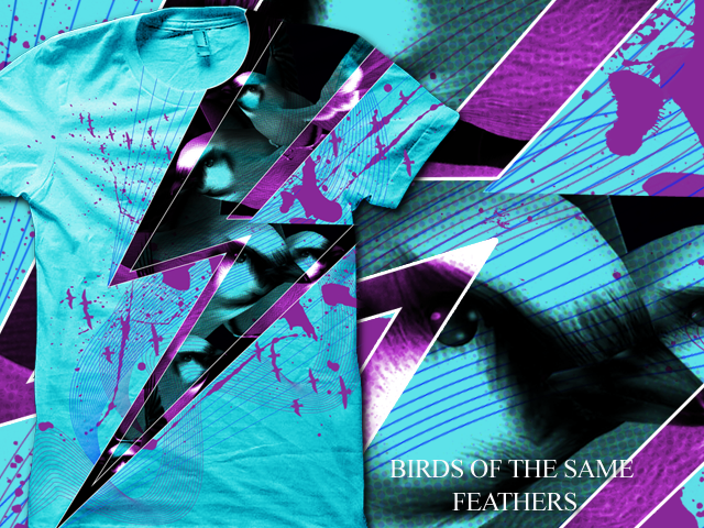 =BIRDS of the same FEATHERS=