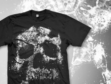 skulls not dead II T-Shirt Design by