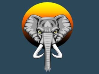 Elephant sunset by styleuniversal