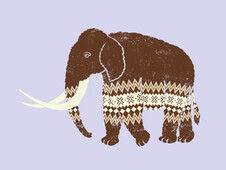 Woolen Mammoth T-Shirt Design by
