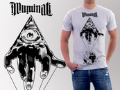 Rockruu wearing ILLUMINATI - You Never Know by VLADesignz