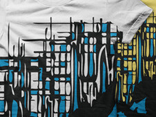 Real Abstract T-Shirt Design by