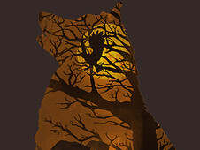 Wolves Lair T-Shirt Design by