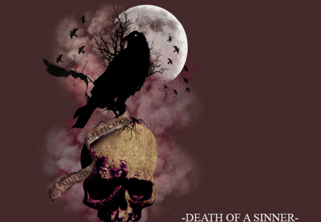 death of a sinner..