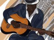 **THE GUITARIST** by Shyler
