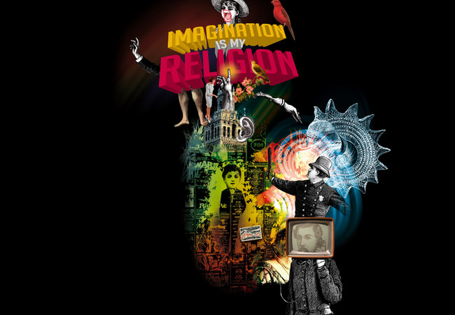 imagination is my religion