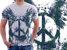 Peace? T-Shirt Design by