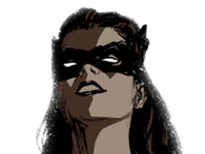 Catwoman T-Shirt Design by