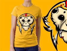 Monoarana (spidermonkey) T-Shirt Design by