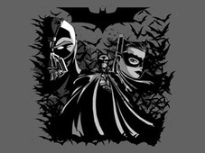 When Gotham is ashes... T-Shirt Design by