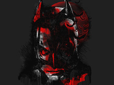 dark knight shadow T-Shirt Design by