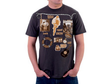 vintage music lover T-Shirt Design by