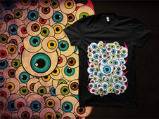 Eyeballs T-Shirt Design by
