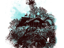 the little house on the mount T-Shirt Design by