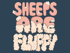 sheeps are fluffy T-Shirt Design by