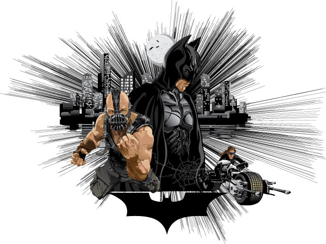 The Dark Knight Rises by Carlton Salter