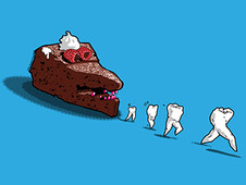 Floss away! T-Shirt Design by