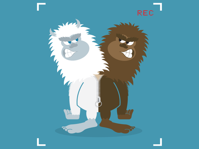 Yeti v Bigfoot