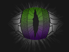 The Eye of the Monster T-Shirt Design by