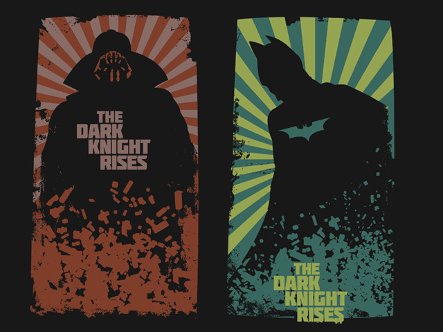 Dark Knight Rises Diptych