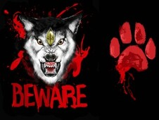 Beware for wolves T-Shirt Design by