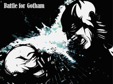 Battle for Gotham T-Shirt Design by