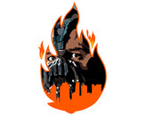 Bane Torches Gotham by fagbayee