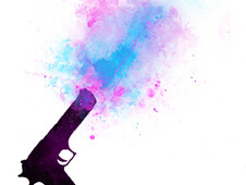 Color gun T-Shirt Design by