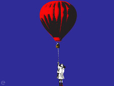 RED BALLOON T-Shirt Design by