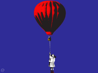 RED BALLOON by ENIONE