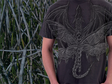 Dragons in Flight T-Shirt Design by