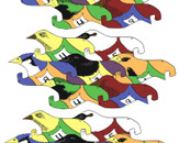 Racing Birds by Bullett