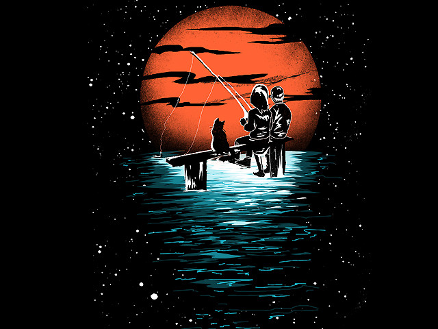 Ethereal Moonlight Fishing