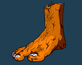 The Foot by cbfx
